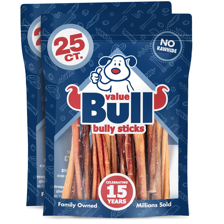valuebull 50 odor free 6 inch regular bully sticks ebay. Black Bedroom Furniture Sets. Home Design Ideas